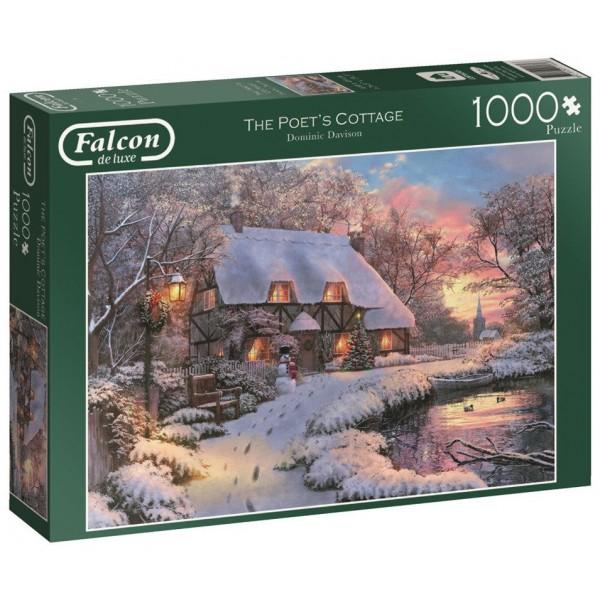 Zimowa chatka, Davison - Sklep Art Puzzle