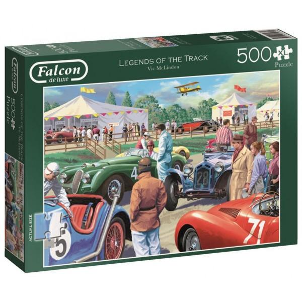 Legendy torów wyścigowych, 500el (XL) - Sklep Art Puzzle
