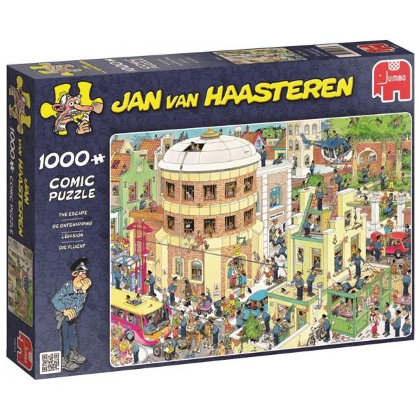 Ucieczka z aresztu, Jan Van Haasteren - Sklep Art Puzzle