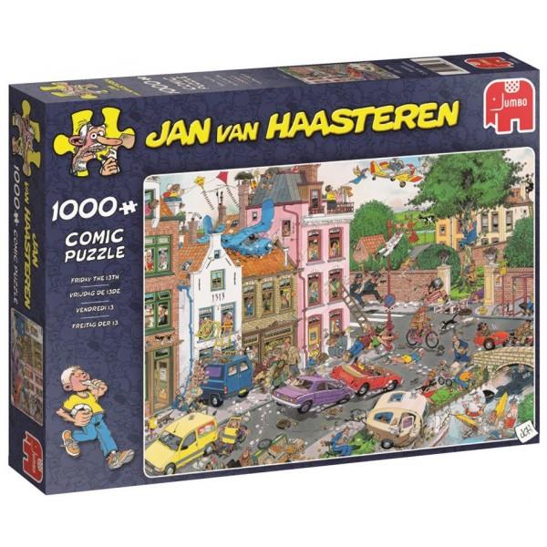 Piątek trzynastego, Jan Van Haasteren - Sklep Art Puzzle