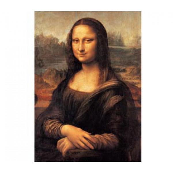 Mona Lisa, Leonardo da Vinci (1000el.) - Sklep Art Puzzle