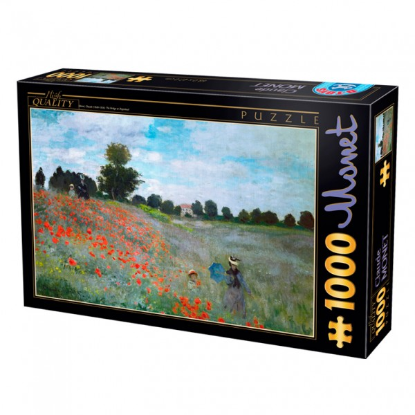 Pole maków, Monet - Sklep Art Puzzle