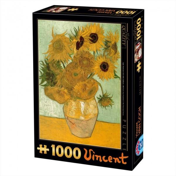 Słoneczniki, Van Gogh - Sklep Art Puzzle