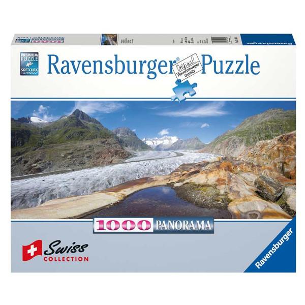 Lodowiec Aletsch, Szwajcaria - Sklep Art Puzzle