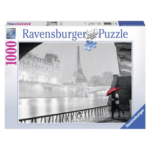 Czerwony parasol - Sklep Art Puzzle