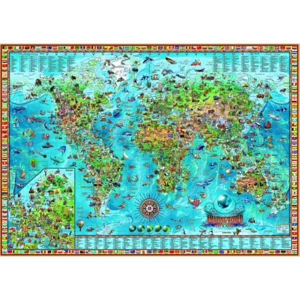 Wspaniały świat (Puzzle+plakat), Rajko Zigic - Sklep Art Puzzle