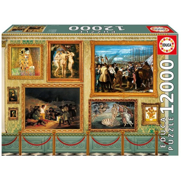 Muzealne arcydzieła (12000el.) - Sklep Art Puzzle