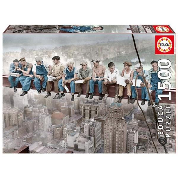 Śniadanie w Nowym Yorku (Puzzle+klej) - Sklep Art Puzzle
