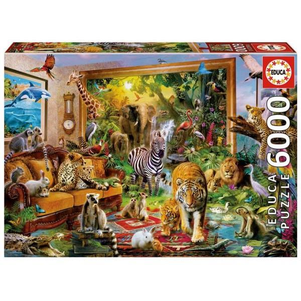 Zwierzęta w sypialni, Krasny - Sklep Art Puzzle
