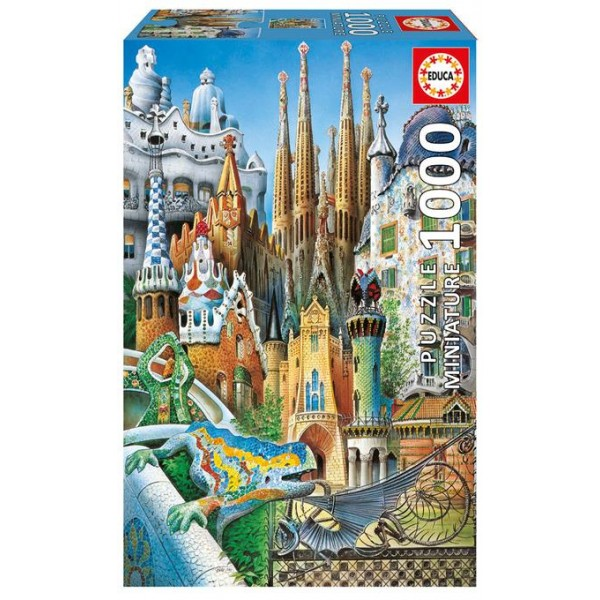 Kolaż Gaudi (Nanopuzzle) - Sklep Art Puzzle