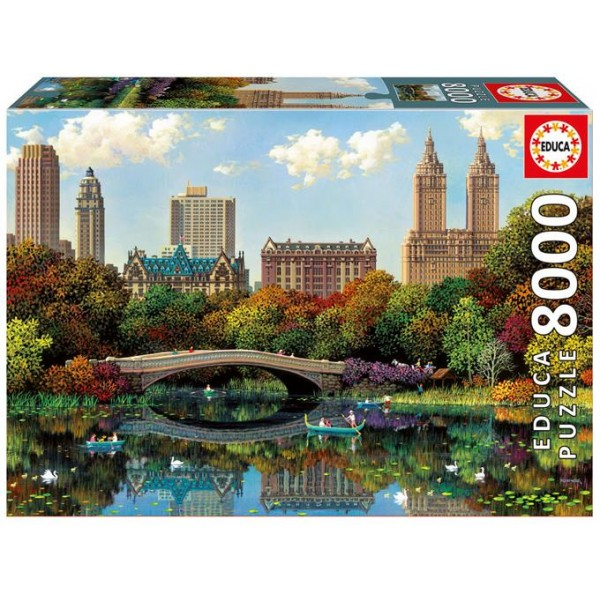 Most w Central Parku,Alexander Chen - Sklep Art Puzzle