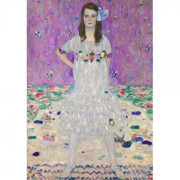 Modna dziewczyna, Klimt - Sklep Art Puzzle