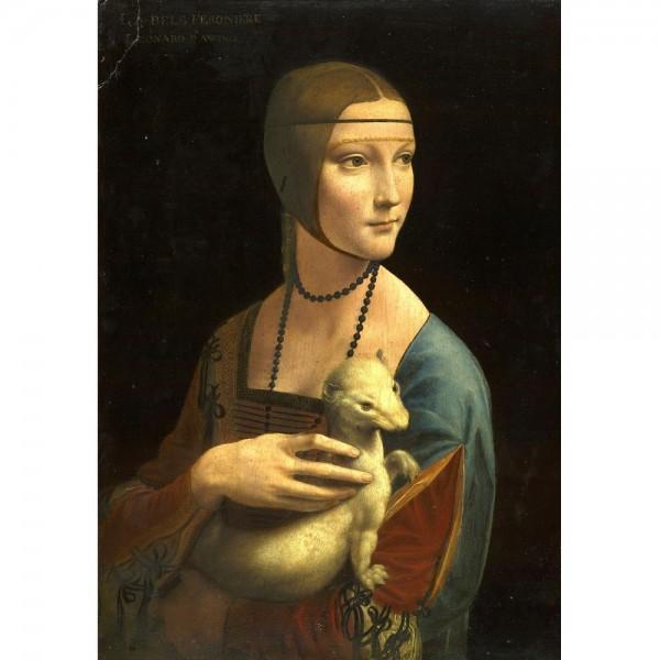Dama z łasiczką, Da Vinci - Sklep Art Puzzle