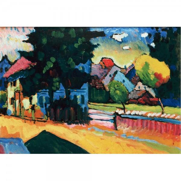 Widok Murnau, Kandinsky - Sklep Art Puzzle