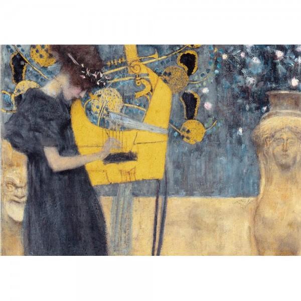 Muzyka I, Klimt - Sklep Art Puzzle