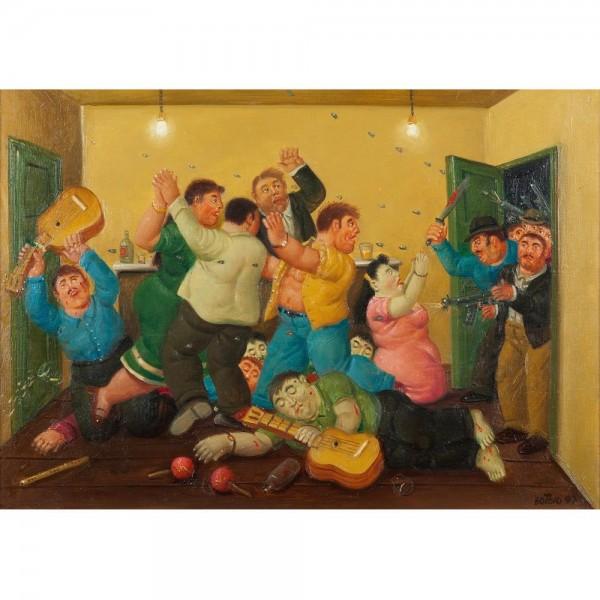 Impreza, Botero - Sklep Art Puzzle
