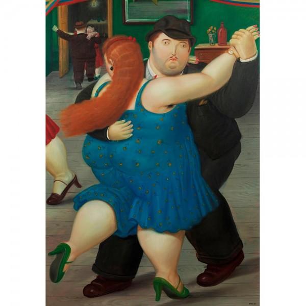 Tańcząca para, Botero - Sklep Art Puzzle