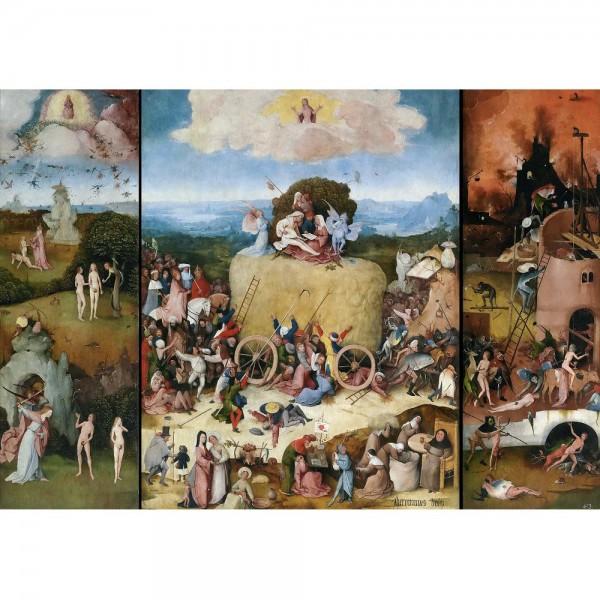 Wóz z sianem, Bosch - Sklep Art Puzzle