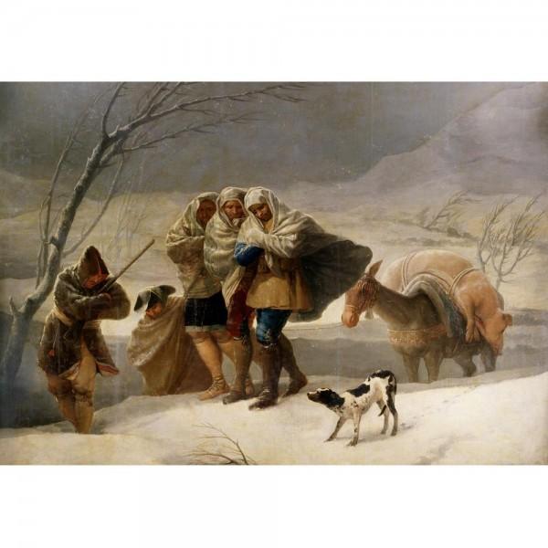 Śnieżyca, Goya - Sklep Art Puzzle