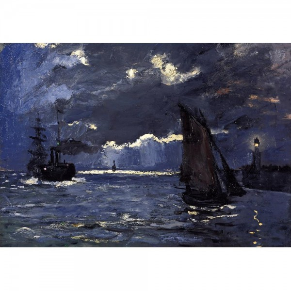 Latarnia morska, Monet - Sklep Art Puzzle