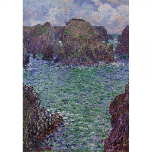 Port  Goulphar, Monet - Sklep Art Puzzle