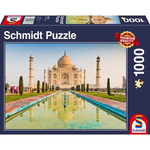 Indie, Taj Mahal - Sklep Art Puzzle
