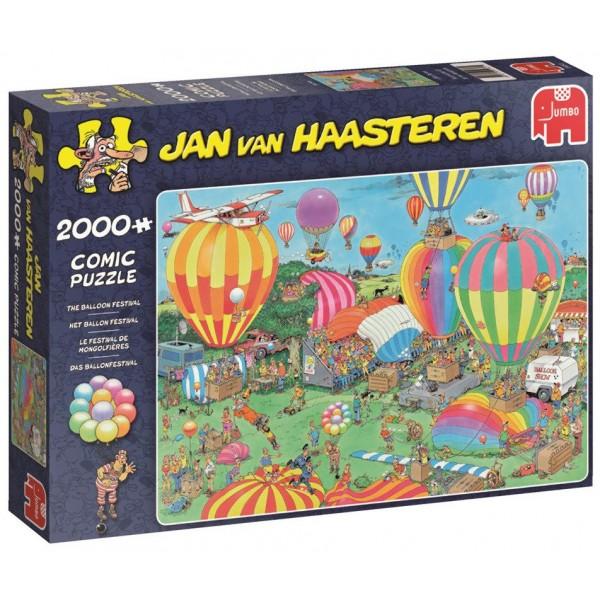 Festiwal balonów( 2000el.), Jan van Haasteren - Sklep Art Puzzle
