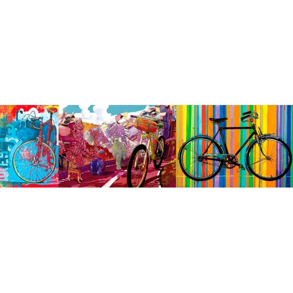 Zestaw 3 x  1000el. (Bike Art) - Sklep Art Puzzle
