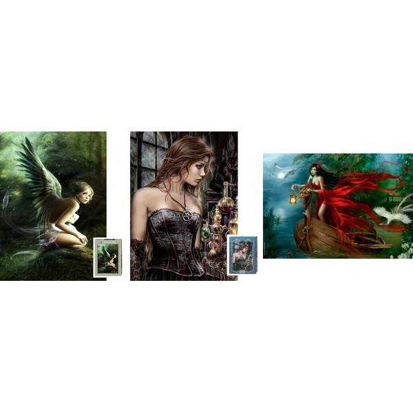 Zestaw Heye-(3 x 1000el.) - Fantasy - Sklep Art Puzzle