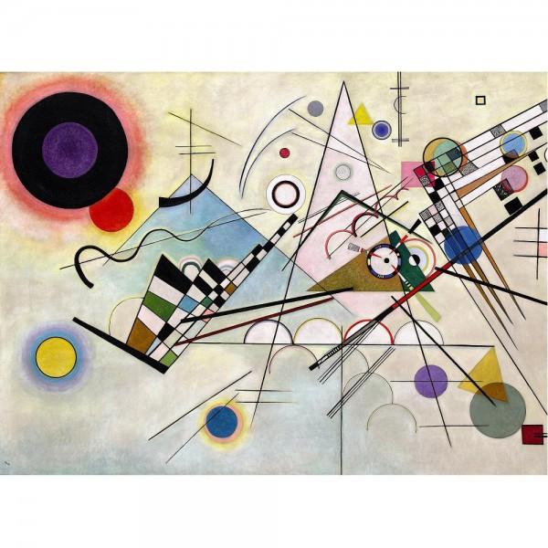 Composition 8, Kandinsky (2000el.) - Sklep Art Puzzle