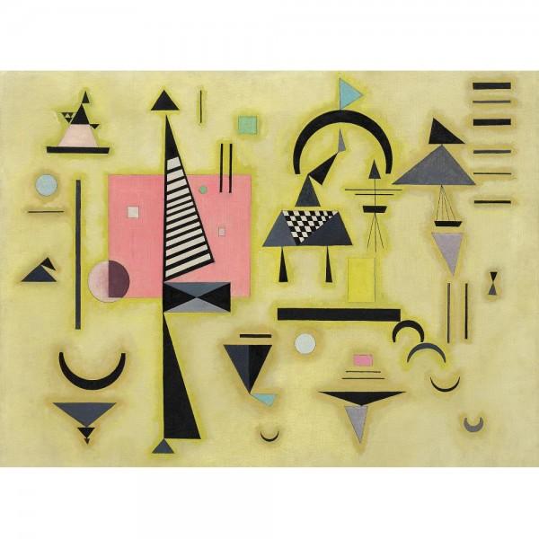Decydujący róż, Kandinsky (2000el.) - Sklep Art Puzzle