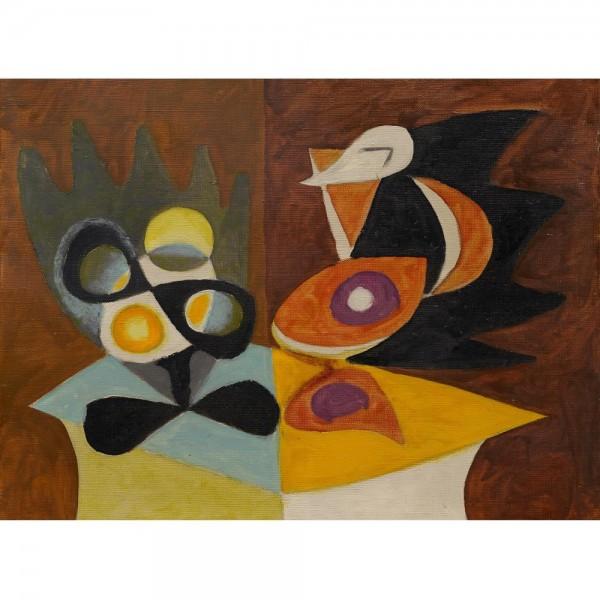 Talerz owoców i dzban, Picasso (2000el.) - Sklep Art Puzzle