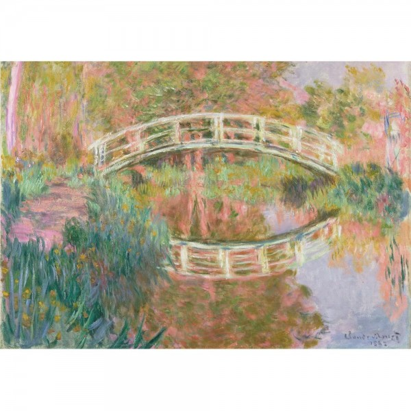 Japoński mostek, Monet - Sklep Art Puzzle