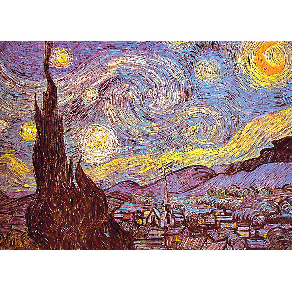 Gwiaździsta noc - Sklep Art Puzzle