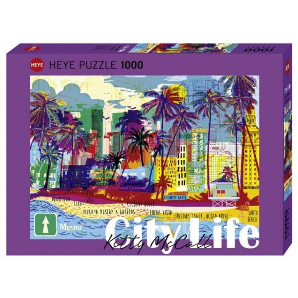 I love Miami - Sklep Art Puzzle