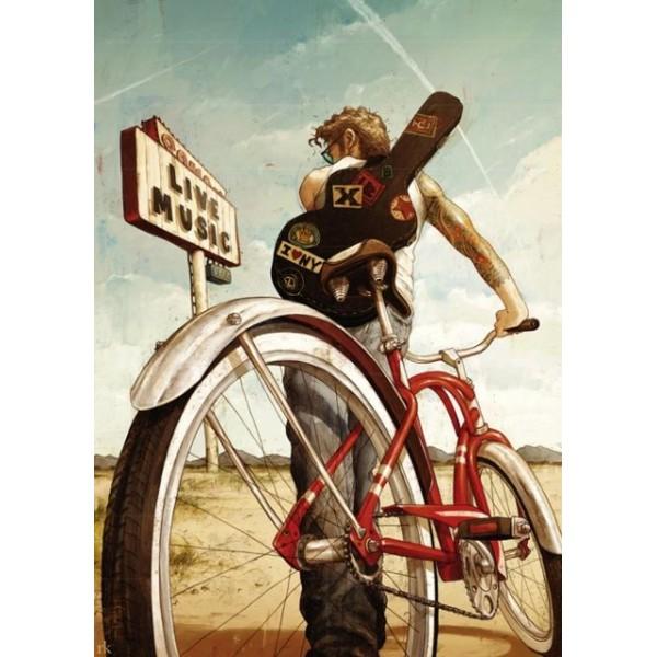Bike art, Muzyczna jazda - Sklep Art Puzzle