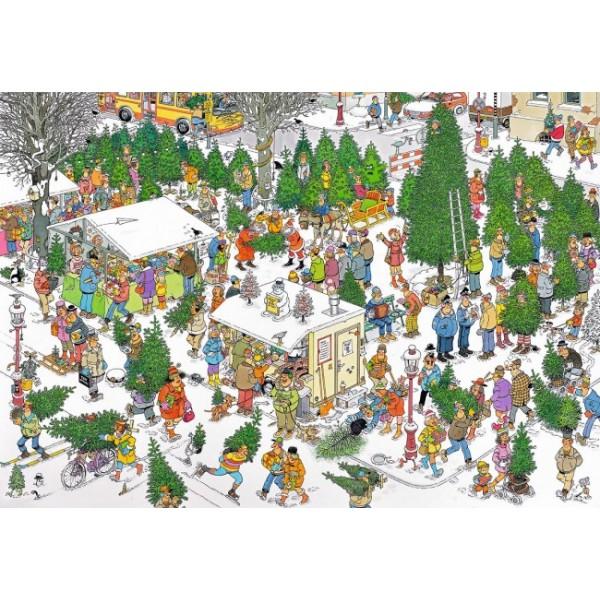 Czas na zakup choinki, Jan Van Haasteren - Sklep Art Puzzle
