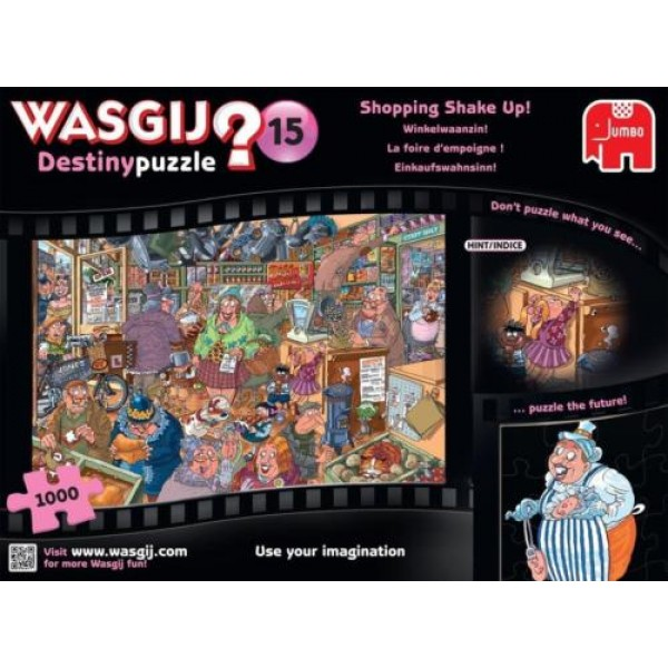 Wasgij!?, W sklepie spożywczym (15) - Sklep Art Puzzle