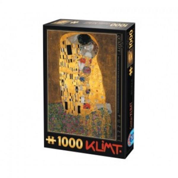 Pocałunek, Klimt - Sklep Art Puzzle