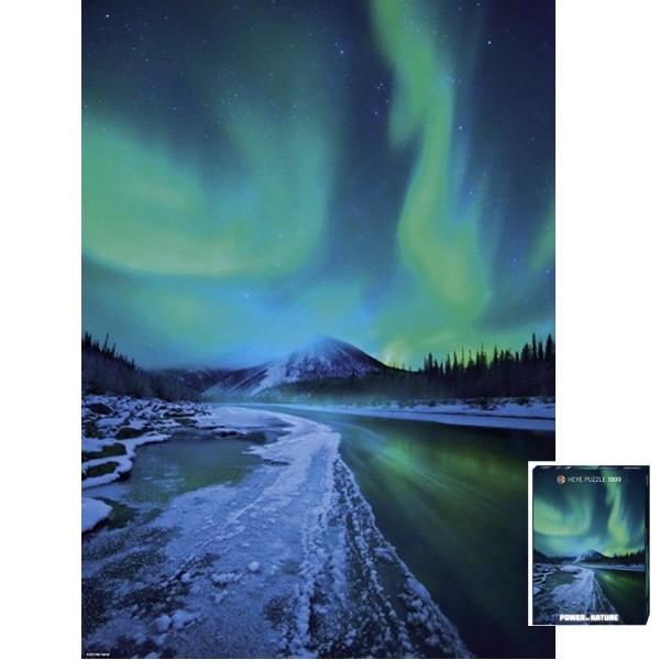 Potęga natury - Zorza polarna - Sklep Art Puzzle