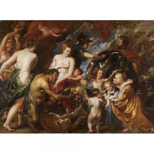 Pokój i wojna, Rubens (2000el.) - Sklep Art Puzzle