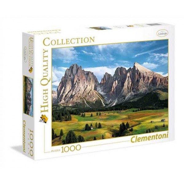 Widok na Alpy - Sklep Art Puzzle
