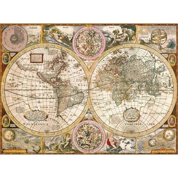 Stara mapa (3000el.) - Sklep Art Puzzle