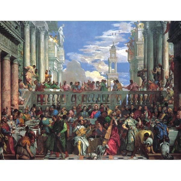 Śluby w Kanie, Veronese (2000el.) - Sklep Art Puzzle