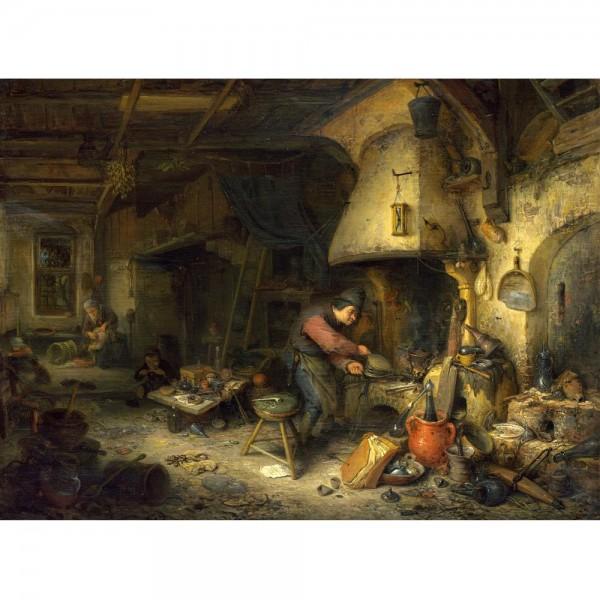 Alchemik, Van Ostade (2000el.) - Sklep Art Puzzle