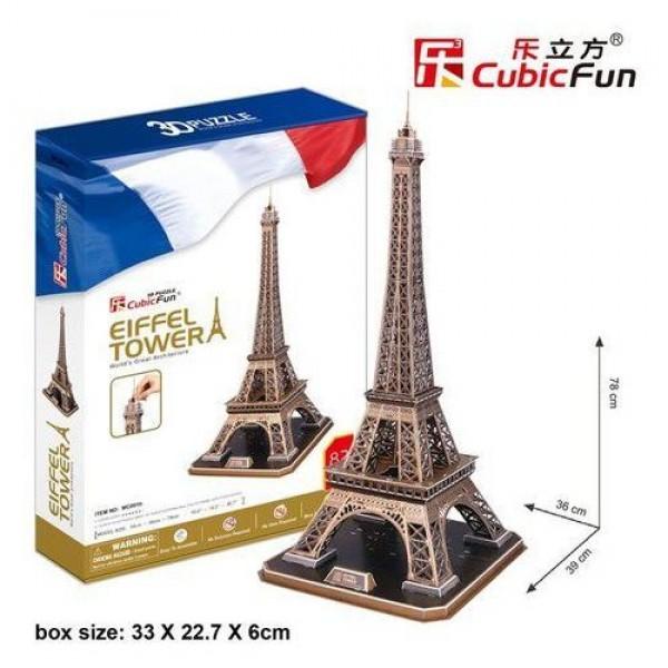 Paryż, Wieża Eiffla (3d) - Sklep Art Puzzle