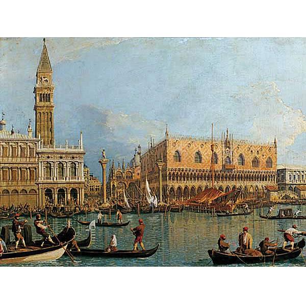 Canaletto, Pałac Ducale - Sklep Art Puzzle