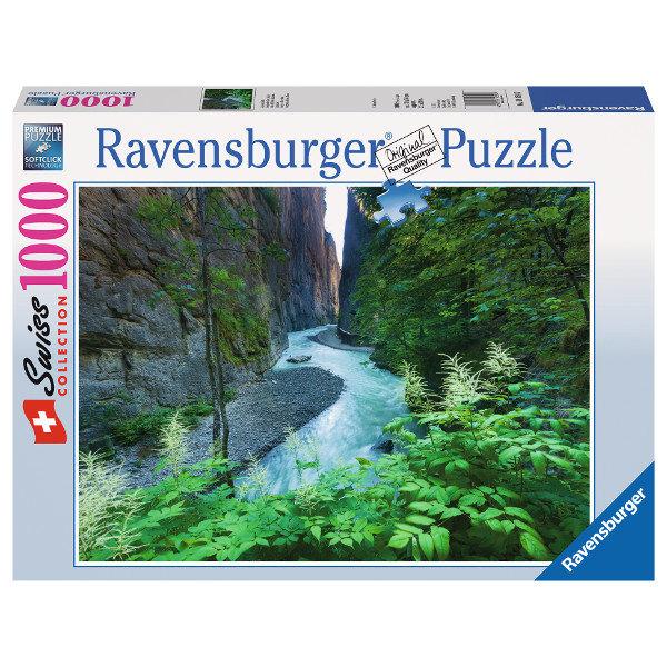 Szwajcaria, Wąwóz Aare - Sklep Art Puzzle
