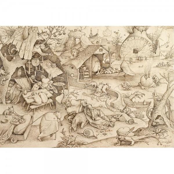 Niedbalstwo, Breughel - Sklep Art Puzzle