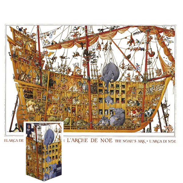 Szalona Arka Noego ( Puzzle+plakat ), Loup - Sklep Art Puzzle